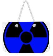 Radiation Warning Sign Weekender Tote Bag