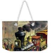 Railroad, 1874 Weekender Tote Bag