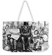 Railroad Accidents, 1871 Weekender Tote Bag