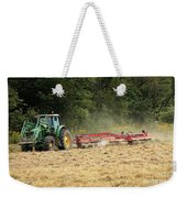 Raking Hay Weekender Tote Bag
