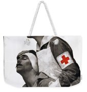 Red Cross Poster, 1917 Weekender Tote Bag