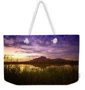 Red Mountain Reflections  Weekender Tote Bag