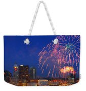 D21l-10 Red White And Boom Fireworks Display In Columbus Ohio Weekender Tote Bag