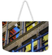 Red Yellow Blue Abstract No Watermark Weekender Tote Bag