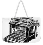 Remington Typewriter Weekender Tote Bag
