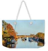 River Frome At Wareham Weekender Tote Bag
