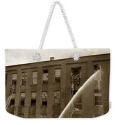 Rochester Show Case Co. Fire New York State Circa 1904 Weekender Tote Bag