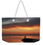 Rock Harbor Sunset Weekender Tote Bag