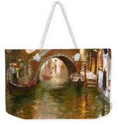 Romance In Venice  Weekender Tote Bag