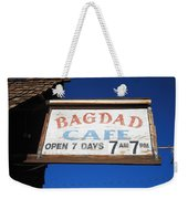 Route 66 - Bagdad Cafe Weekender Tote Bag