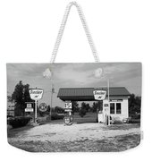 Route 66 Gas Station Weekender Tote Bag