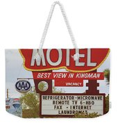 Route 66 - Hill Top Motel Weekender Tote Bag