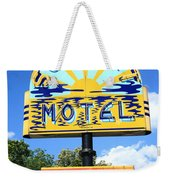 Route 66 - Sunset Motel Weekender Tote Bag