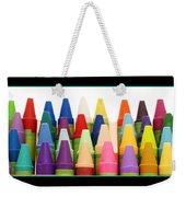 Rows Of Crayons Weekender Tote Bag