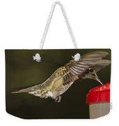 Ruby-throat Hummingbird Weekender Tote Bag