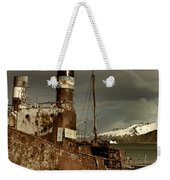 Rusted Whaling Boats Weekender Tote Bag by Amanda Stadther