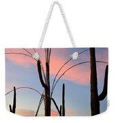 Saguaro Silhouettes Weekender Tote Bag