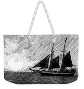 Sailing At Sunset Weekender Tote Bag