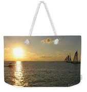 Sailing Into The Sunset - Key West Weekender Tote Bag
