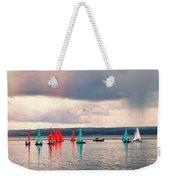 Sailing On Marine Lake A Reflection Weekender Tote Bag