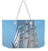 Sailing Ship Weekender Tote Bag by Anonymous