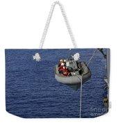 Sailors Lower A Rigid-hull Inflatable Weekender Tote Bag