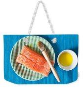 Salmon Fillets Weekender Tote Bag