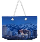 Salt Lake City Weekender Tote Bag