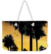 San Diego Sunset Weekender Tote Bag