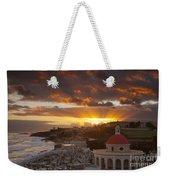 San Juan Sunrise Weekender Tote Bag
