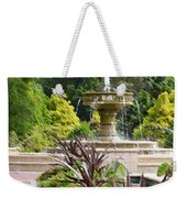 Sarah Lee Baker Perennial Garden  4 Weekender Tote Bag