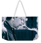 Saxophone Player Weekender Tote Bag