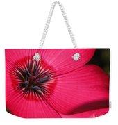 Scarlet Flax Weekender Tote Bag