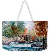 Scenic Falls Weekender Tote Bag