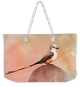 Scissor-tailed Flycatcher Weekender Tote Bag