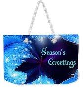 Season's Greetings Weekender Tote Bag