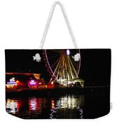Seattle Ferris Wheel Weekender Tote Bag