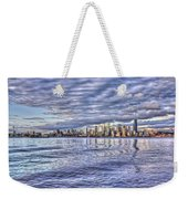 Seattle Skyline Cityscape Weekender Tote Bag