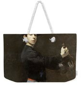 Self-portrait Weekender Tote Bag