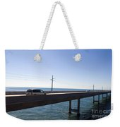 Seven Mile Bridge Florida Keys Weekender Tote Bag