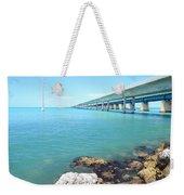 Seven Mile Bridge-1 Weekender Tote Bag