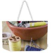 Sewing Supplies Weekender Tote Bag