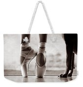 Shall We Dance Weekender Tote Bag by Laura Fasulo