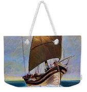 Ship Ahoy Weekender Tote Bag