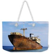 Shipwreck On Lanzarote Weekender Tote Bag
