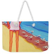 Shorebirds Of A Feather Weekender Tote Bag