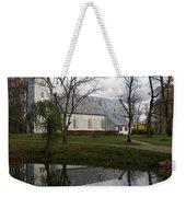 Sigulda Church Weekender Tote Bag