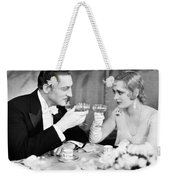 Silent Film Still: Drinking Weekender Tote Bag by Granger