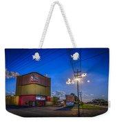 Silver Moon Weekender Tote Bag