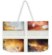 Skies Weekender Tote Bag by Les Cunliffe